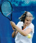 Play tennis whenever you want without menorrhagia.